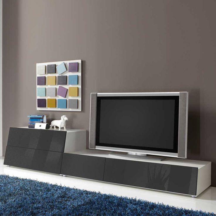 Die besten 25+ Tv schrank weiss Ideen auf Pinterest Tv wand grau - schrank für wohnzimmer