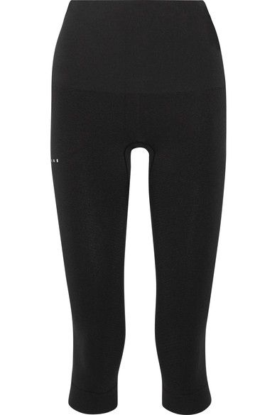 FALKE Ergonomic Sport System - Stretch-jersey Leggings - Black - x small