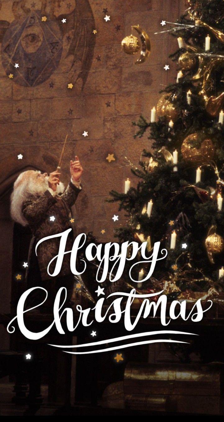 Harrypotter Christmas Backgrounds Harry Potter Christmas Harry Potter Background Christmas Background