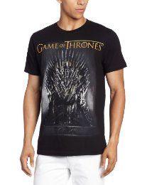 HBO'S Game of Thrones Men's Throne, Black, X-Large  #TShirt #Men's #GameofThrones