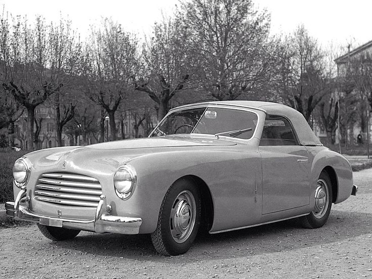 1949 FERRARI 166 INTER - coachwork by Stabilimenti Industriali Giovanni Farina SpA of Turin.
