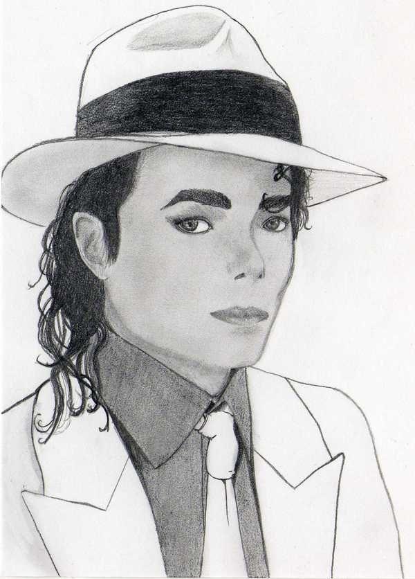 Dessin portrait mes dessins portrait michael jackson - Dessin de michael jackson ...