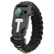 5 Functions in 1 Outdoor Survival Rope Emergency Bracelet