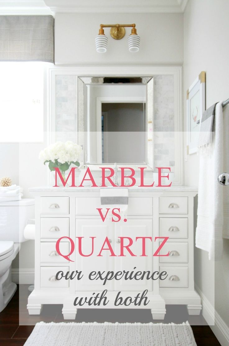 Water stains on walls in bathroom - Quartz A Thoughtful Place Marble Is Beautiful But A Much Higher Maintenance And Water Stains Easily Quartz Is Soo Durable And Can Have A Beautiful
