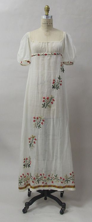 Dress 1805 The Metropolitan Museum of Art
