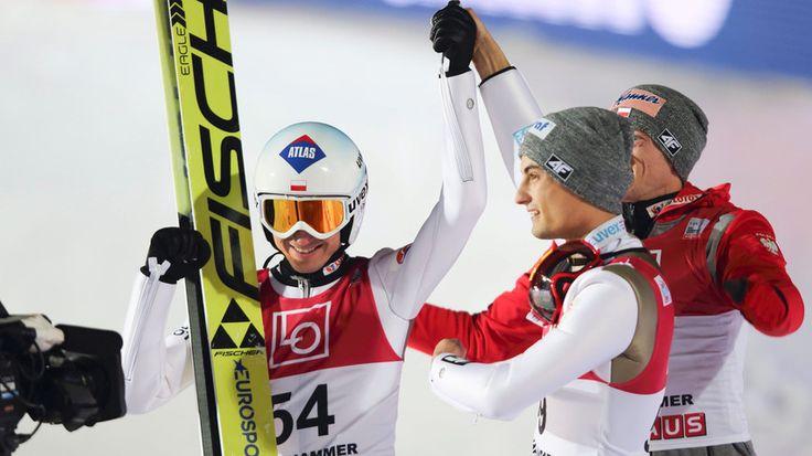 Kamil Stoch i Maciej Kot/grudz.2016r/