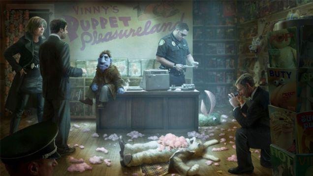 "Brian Henson's Puppet Noir Movie ""The Happytime Murders"" Is Actually Happening http://io9.com/holy-cow-brian-hensons-puppet-noir-movie-is-actually-h-1716573126?utm_content=bufferf4ecb&utm_medium=social&utm_source=pinterest.com&utm_campaign=buffer"