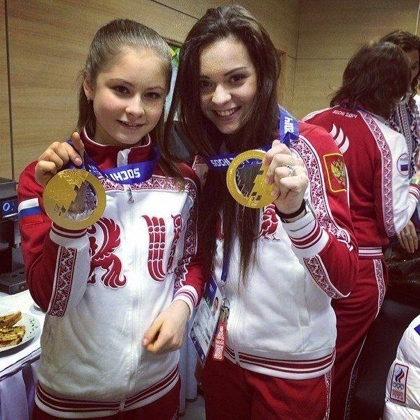 Олимпиада Сочи 2014. Золотые девочки