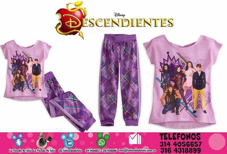 Pijama Niñas Los Descendientes Disney.