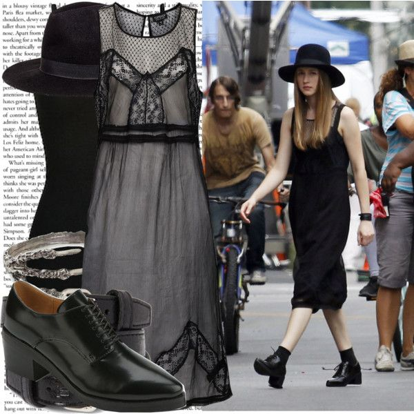 """taissa farmiga filming 'american horror story coven'"" by cla-90 on Polyvore"