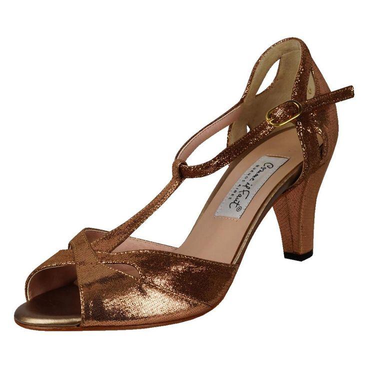 Comme il Faut Shoes - Mara Bronze 6cm