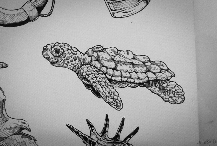Tattoo design : Aquatic - Part II on Behance