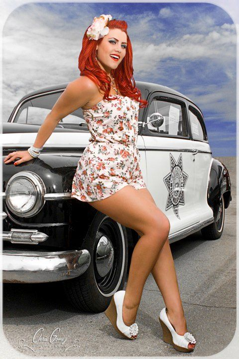 2016 Hot Rod And The Beautiful Pin Up Girl 2016