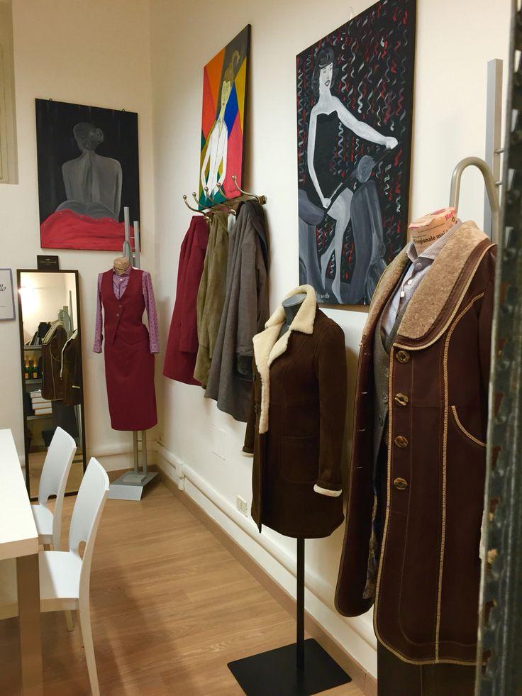Show Room Mario Muscariello at Milano - Corso Venezia 35 - lady collection
