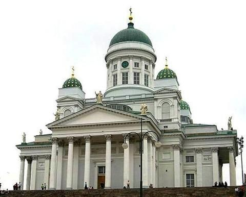 Most FInnish people are Lutheran and this is a church they would go to.
