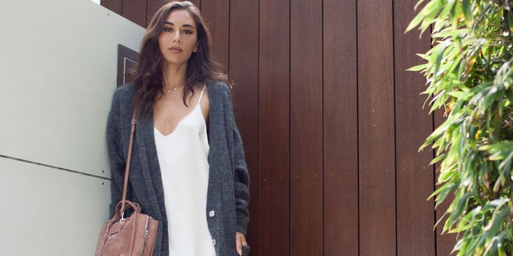 Wardrobe MVP: Rumi Neely's Silk Slip Dress