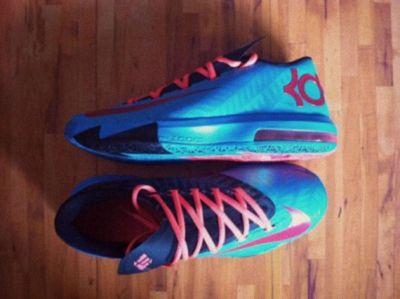 5d26d9539440 Nike KD 6 N7 Dark Turquoise University Red Black 626368 466