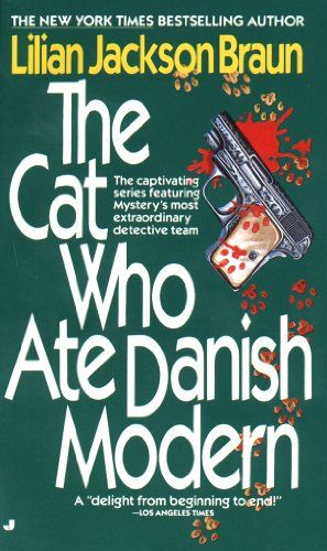 Ginger Reads The #Cat Who Ate Danish Modern: A #Cozy #Mystery at Cats Read Mysteries