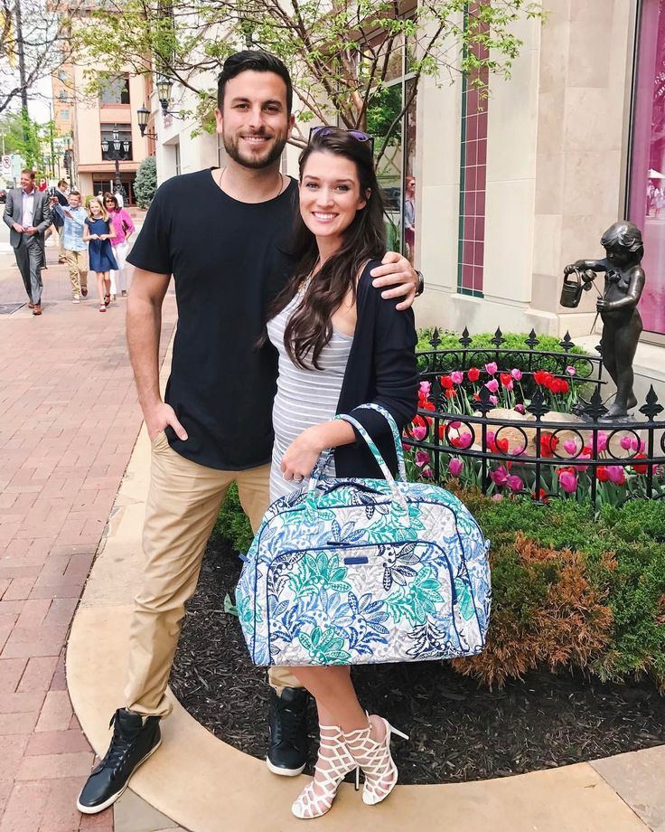 "33.8k Likes, 356 Comments - Jade Tolbert (@jadelizroper) on Instagram: ""Can't decide what's my best travel accessory — my @VeraBradley bag or @tanner.tolbert…"""