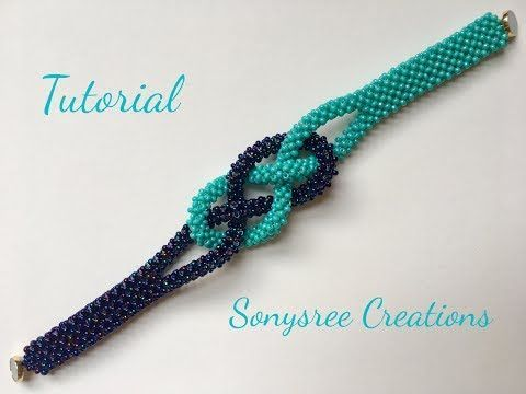 Cubic Right Angle Weave bracelet – YouTube