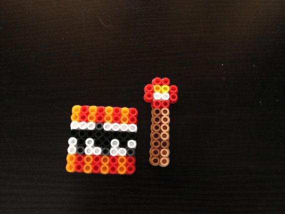 17 best images about minecraft perler beads minecraft perler bead tnt block and red stone by craftingdenver