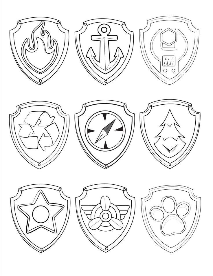 printable patrol party ideas birthday badges