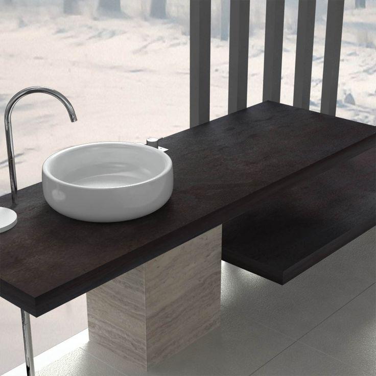 Mensola per lavabo Produzione e vendita online di Mensola per Lavabo  Mensole bagno - Mensola per lavabo da appoggio - Mensola lavabo realizzabile su misura, resistenti nel tempo, sono adatte per essere utilizzate in ambienti umidi e a contatto con l'acqua. Mensola lavabo in legno melaminico, disponibili in 18 colorazioni
