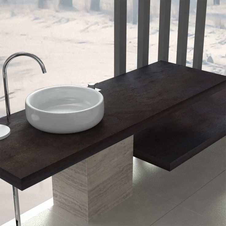 Pi di 25 fantastiche idee su mensole da bagno su for Mensola lavabo