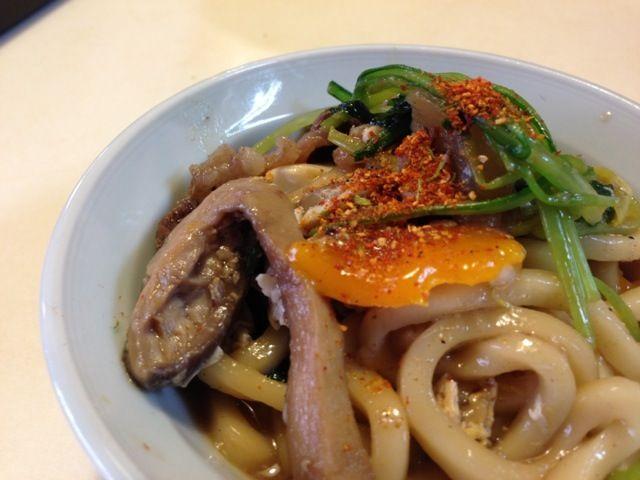 残り物ですが 七味の香りが最高 - 14件のもぐもぐ - 朝ご飯に煮込みうどん by sasaちゃんこ