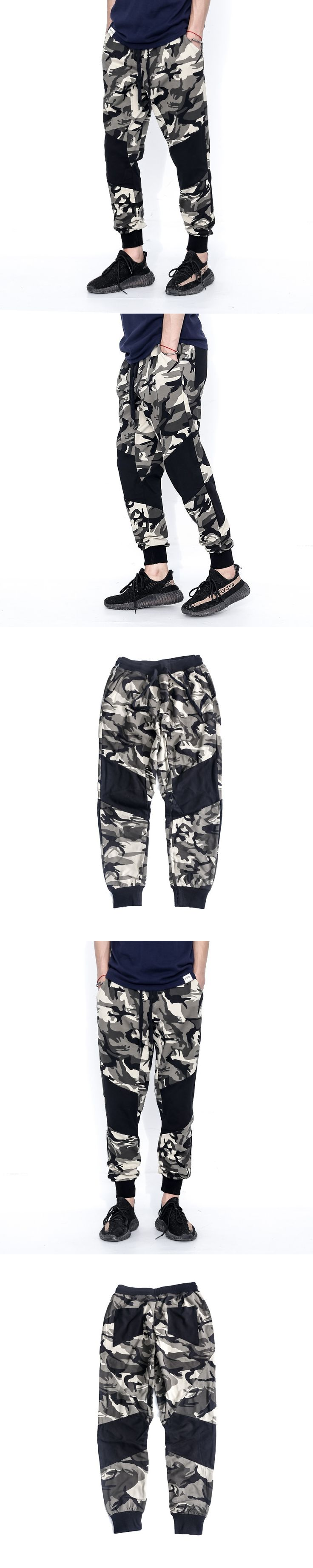 Casual loose pencil pants Brand Men Clothing Camouflage Cargo Trouser Male Casual Man Pantalon Homme Military Pants 7978