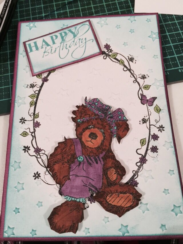 Cute Birthday Card Designed by Kristy Knight Independent Consultant