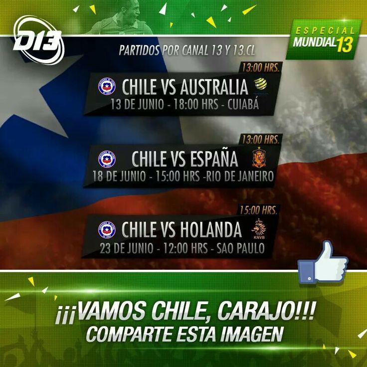 Vamos CHILE!!!!!!!!!!!!