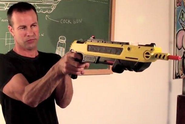 Shoot the bug by salt gun!      おバカアイテム発見!以前紹介した「虫ハンター」は急激な吸引力でハエを吸い込む、という方法でした。ところが、国が変わればハエを捕ま...