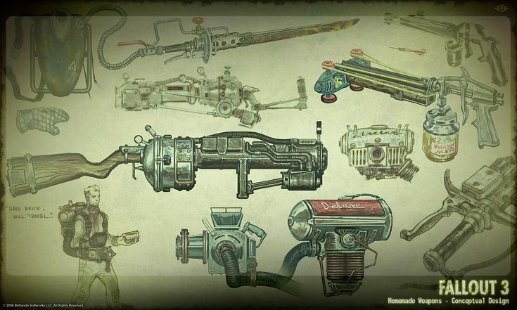 Fallout 3 weapon design