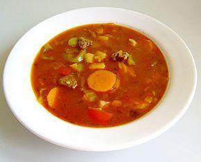 Σούπα γκούλας (gulaschsuppe)