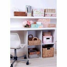 Desk storage ideas