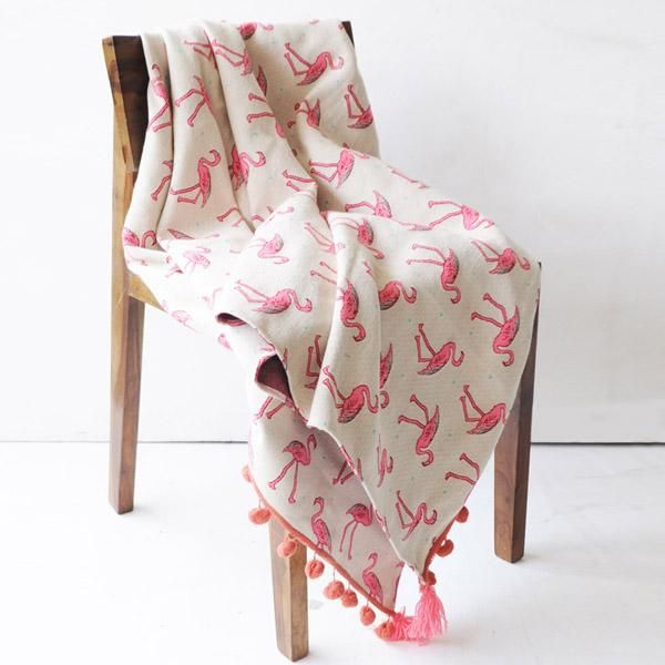 Pop Up Flamingo Throw Blanket Throw Blanket Sofa Throw Blanket