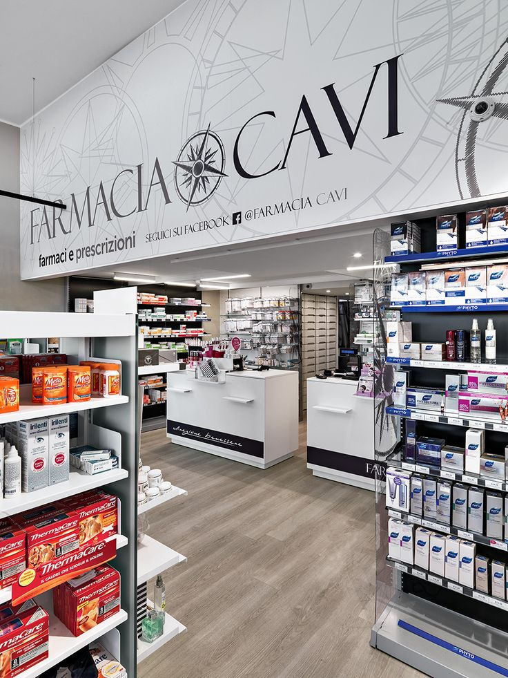 Farmacia Cavi MOBIL M progettazione farmacia