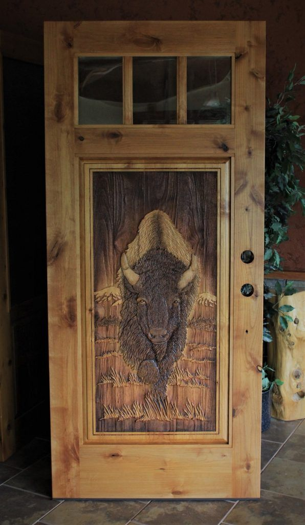 Carved Wood Front Doors Great River Door Co Wood Front Doors Wooden Doors Carved Doors