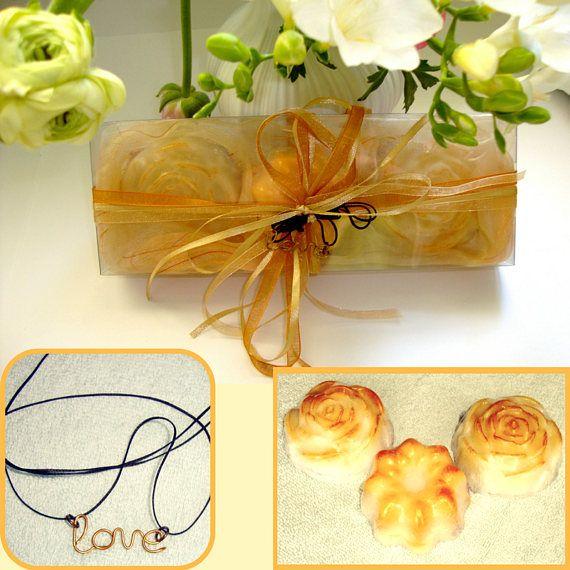 Valentine Golden Gift Set for Women Glycerin Beauty Luxury
