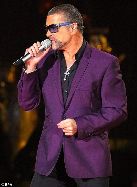 Back with a bang: George Michael performed his Symphonica tour for a three-night stint at Earls Court