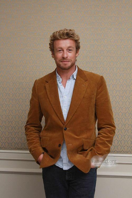 Simon Baker- insanely good looking!