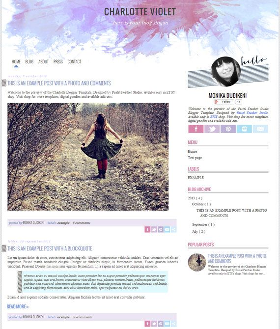 24 best Web images on Pinterest | Website designs, Blog designs and ...