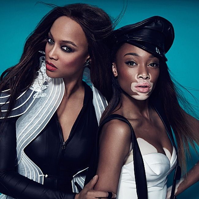 Does anyone else feel Chantelle is looking prettier than Tyra here? America's Next Top Model Scouts Vitiligo Sufferer Chantelle Brown-Young |