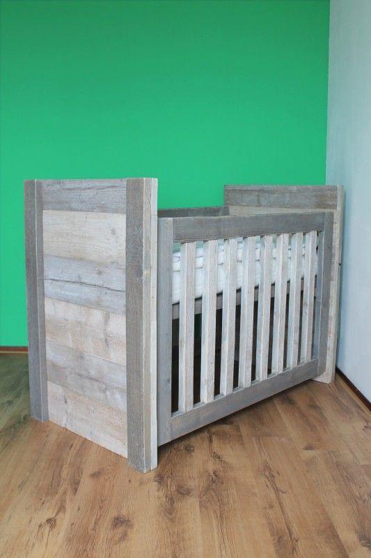Omvormbedje Pipi... later ook groot bed! | Steigerhouten Bedden | In de Wijde Wereld