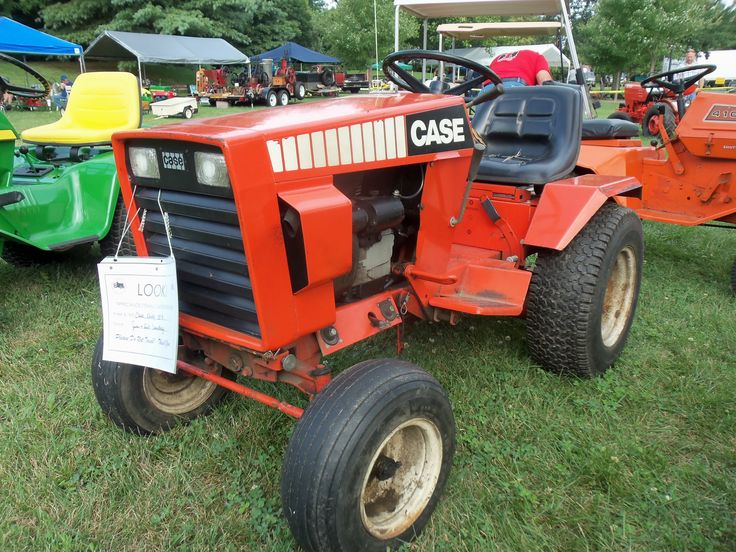 Old Case Garden Tractor Parts : Best images about ingersoll case garden tractors on