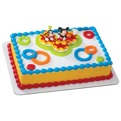 Mickey Mouse Cake Topper Walmart