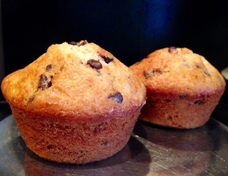 Muffins banane e cioccolato