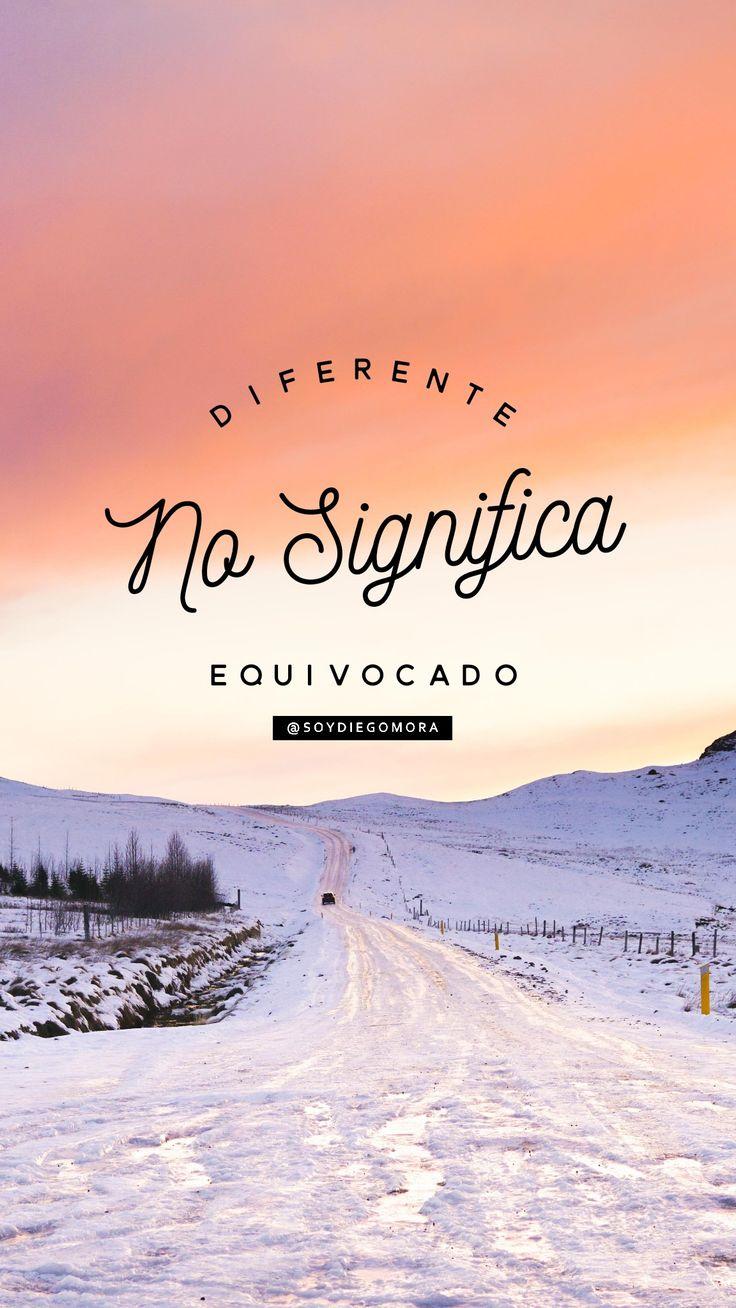 Diferente #CumpleTuProposito #NuncaTeRindas @soyDiegoMora