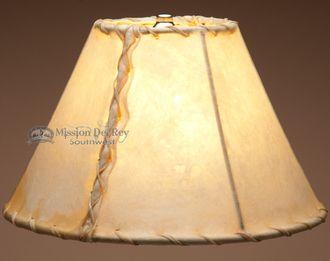 "Southwestern Rawhide Lamp Shade 12"""""